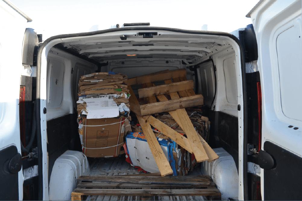 camion déchets d'entreprise