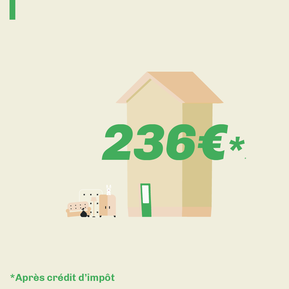 Exemple d'un débarras d'appartement à Saint-Nazaire 2