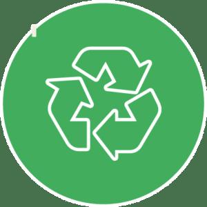Picto recyclage après débarras