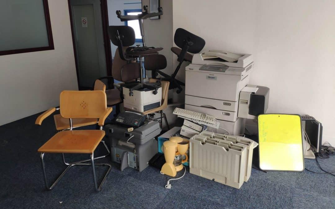 Débarras de bureaux à Nantes