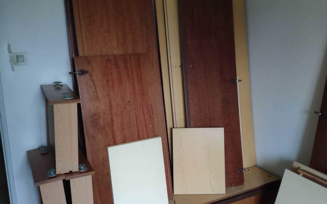 Débarras d'encombrants dans un appartement