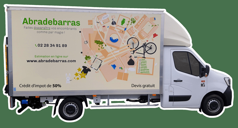 Camion débarras Abradebarras