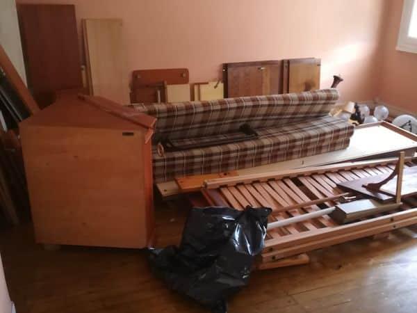 Débarras d'un appartement à Nantes Est