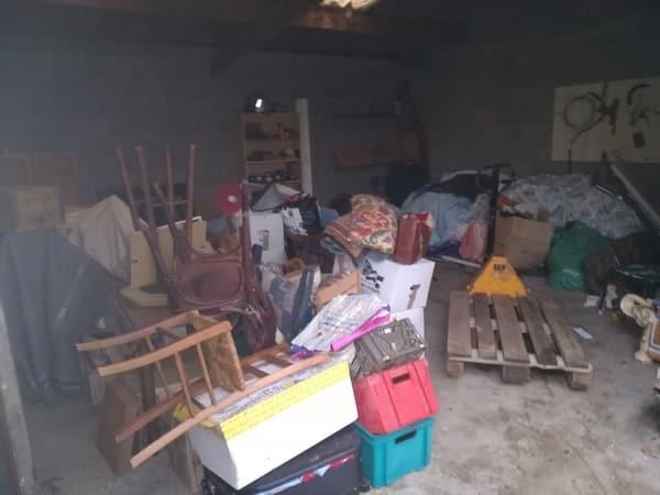 Débarras d'un garage à Nantes