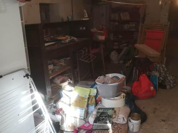 Débarras d'un garage à Saint-Nazaire