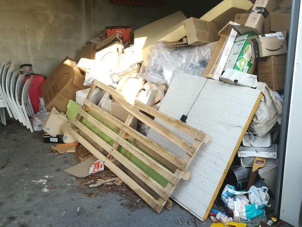 Débarras d'un garage dans le nord de la loire atlantique