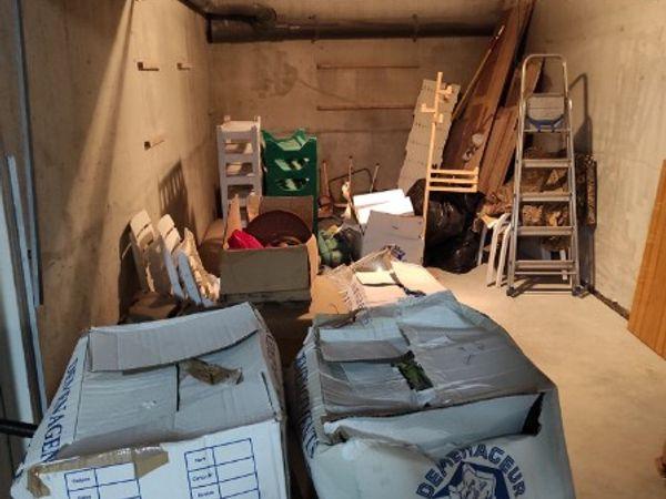 Débarras d'un garage à La Baule